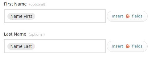 MailChimp profile